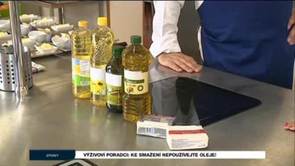 Výživoví poradci: Ke smažení nepoužívejte oleje