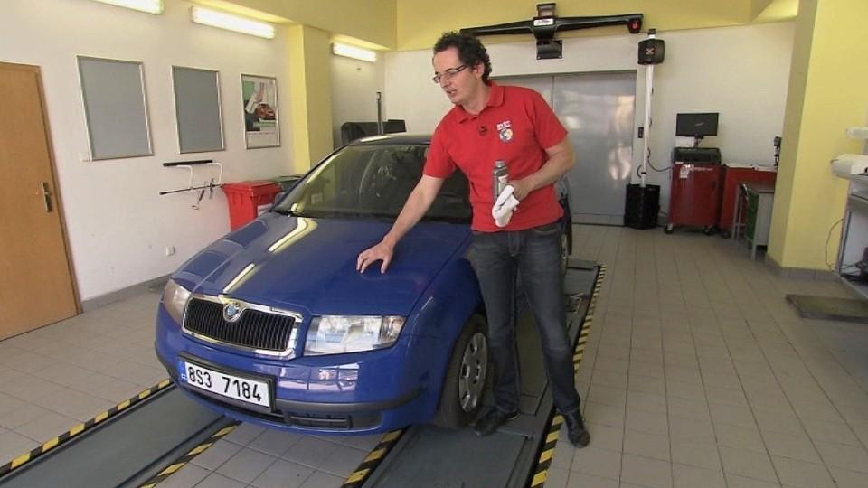 Preventivní servis automobilu - karoserie