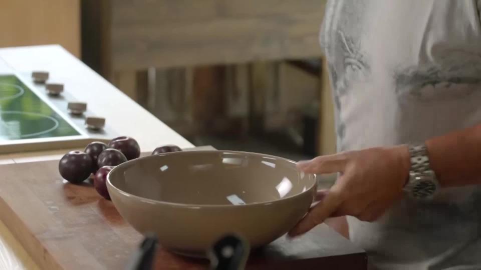 Pečené blumy s balsamicem