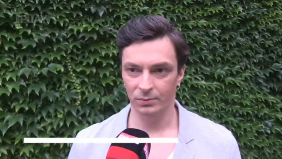 Alexander Katsapov před natáčením TGM
