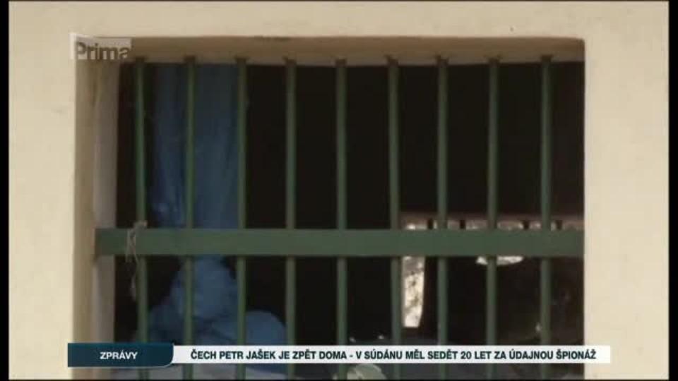 Čech Petr Jašek je zpět doma - v Súdánu měl sedět 20 let za údajnou špionáž