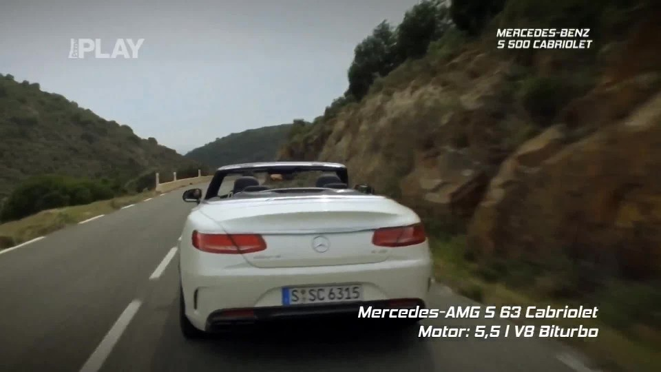 Mercedes-Benz S 500 Kabriolet + Mercedes-Benz SLC 300
