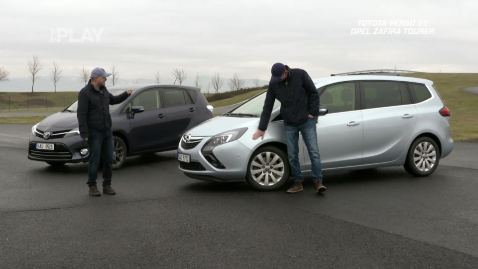 Toyota Verso 1,8 Valvematic Executive 7M vs Opel Zafira Tourer 2,0 CDTI Cosmo