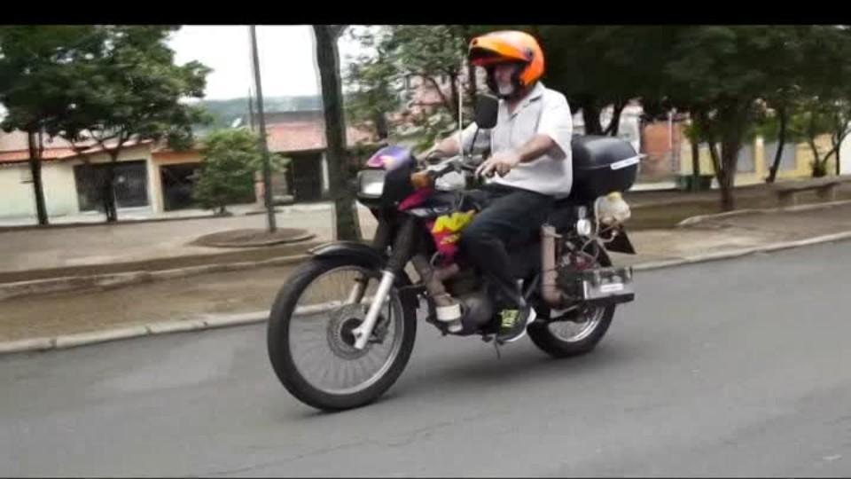 SVĚT: Motorka jezdí na vodu