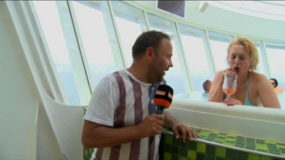 TOP STAR 12.6.2016 - Miluše Bitnerová na lodi