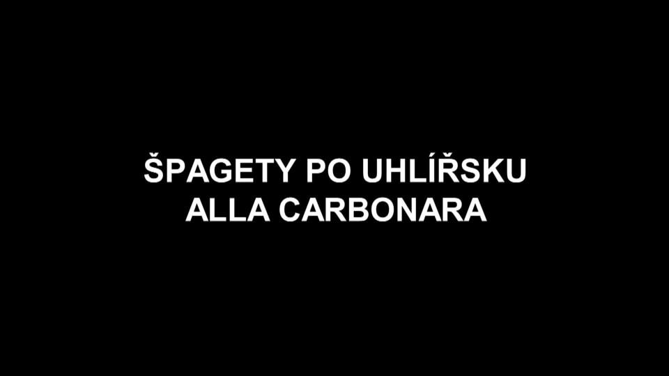 Špagety po uhlířsku