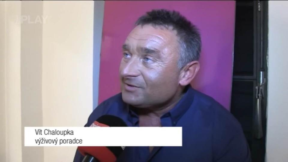 Výživový poradce Vít Chaloupka - rozhovor před TGM