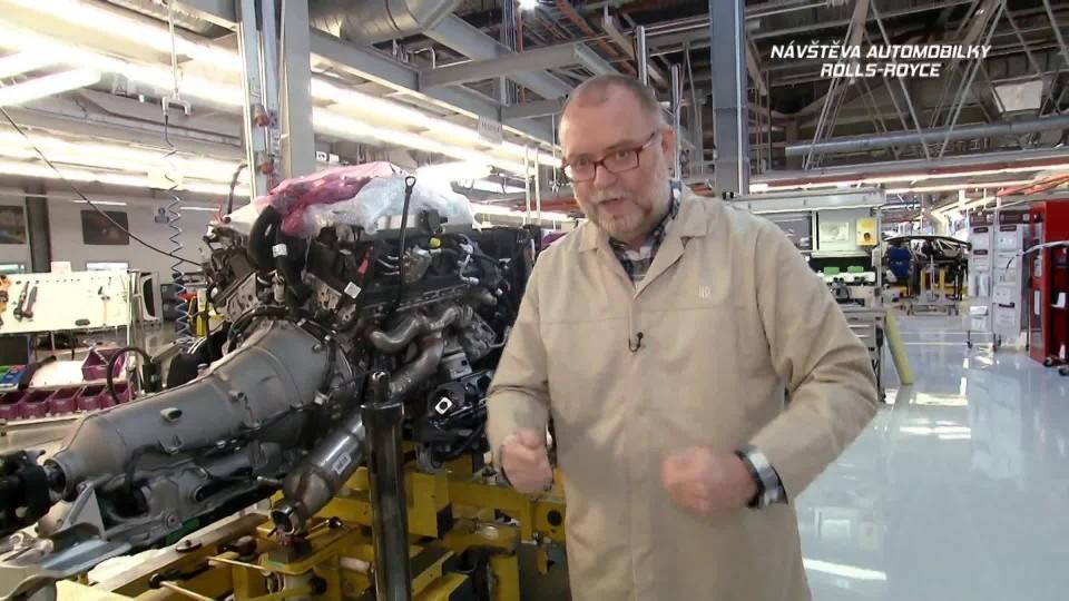 Návštěva automobilky Rolls-Royce II.část