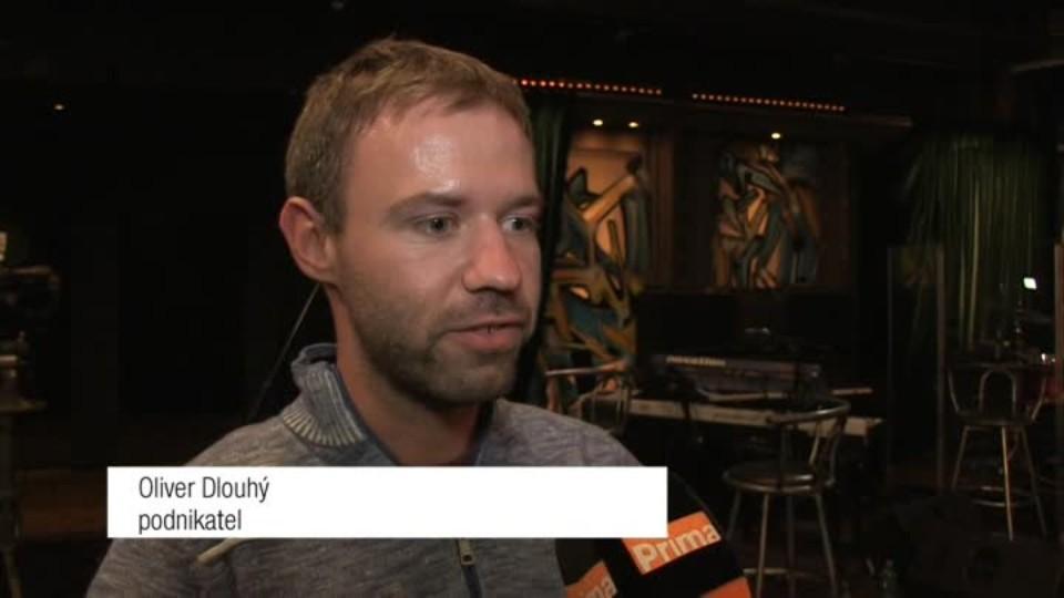 Podnikatel Oliver Dlouhý v SJK