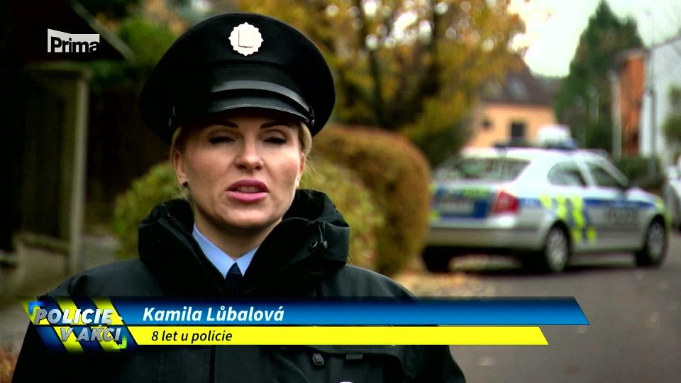 Ztracený mobil - Policie v akci