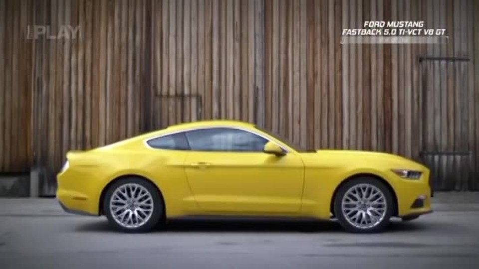 Ford Mustang Fastback 5,0 TI-VCT V8 GT