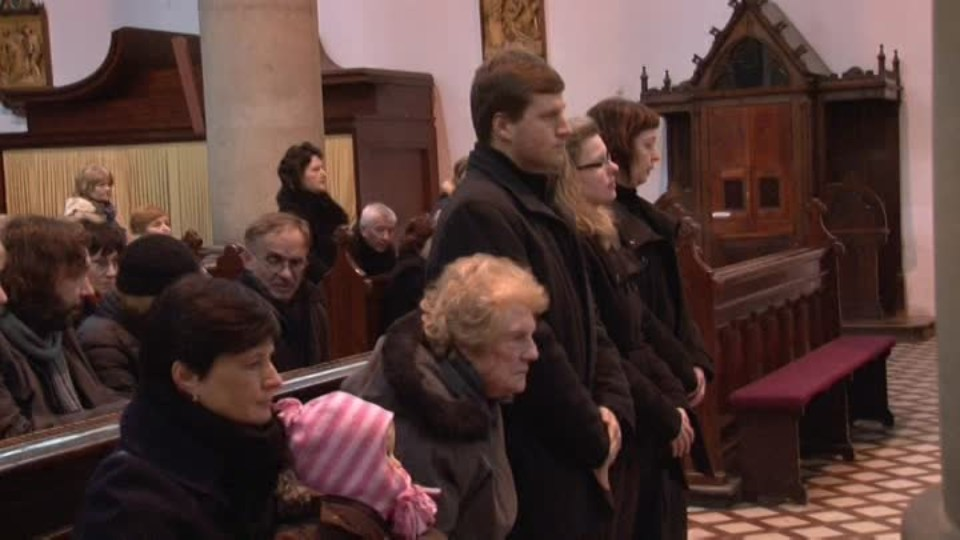 TOP STAR 1.3.2016 - Jaroslava Hanušová pohřeb