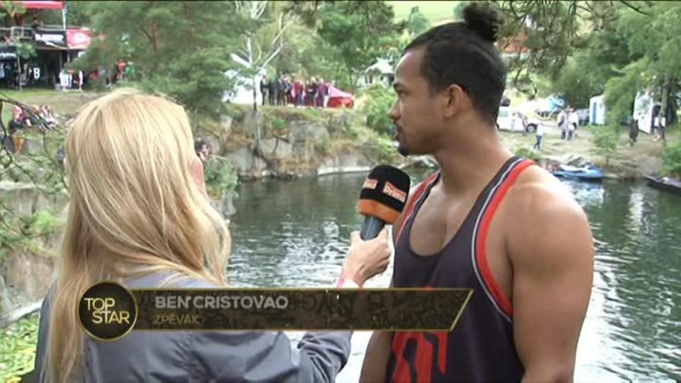 TOP STAR 6.8.2016 - Ben Cristovao rozhovor