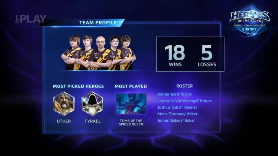 Road to BlizzCon 2015 - Neděle - Heroes of the Storm - Grandfinále