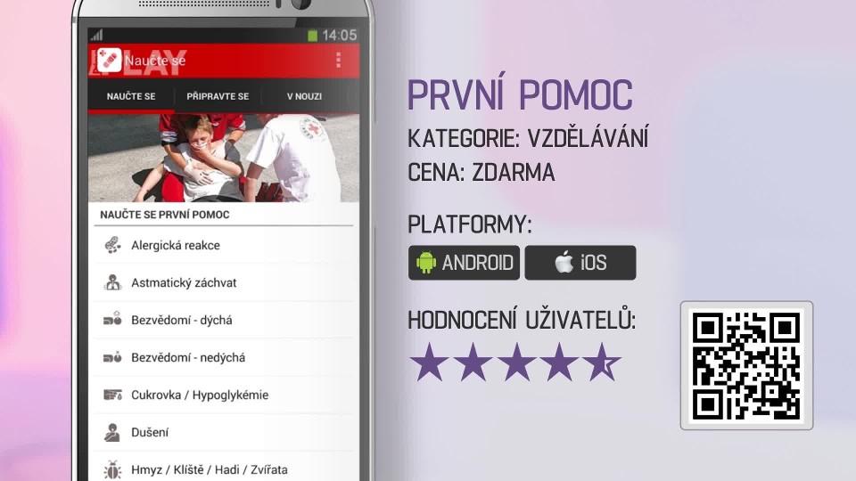 Prima Rádce - Aplikace První pomoc