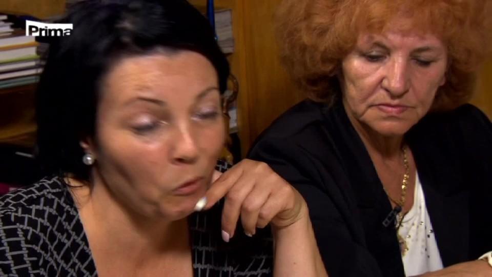 Prostřeno! Hádka Lucie a Irena