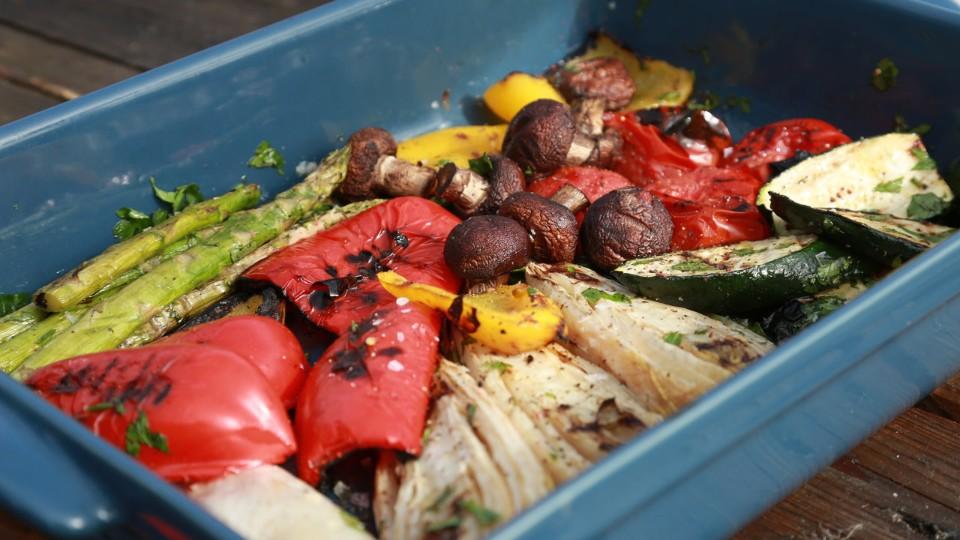 RTŠ! II (5) - Zelenina z grilu s domácí majonézou