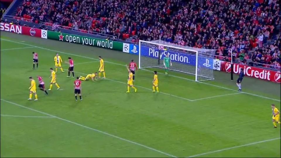 Sestřih zápasu - Athletic v BATE (10.12.2014)