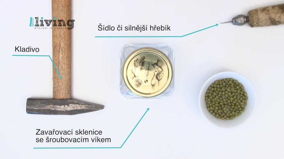 DIY: Klíčící nádoba
