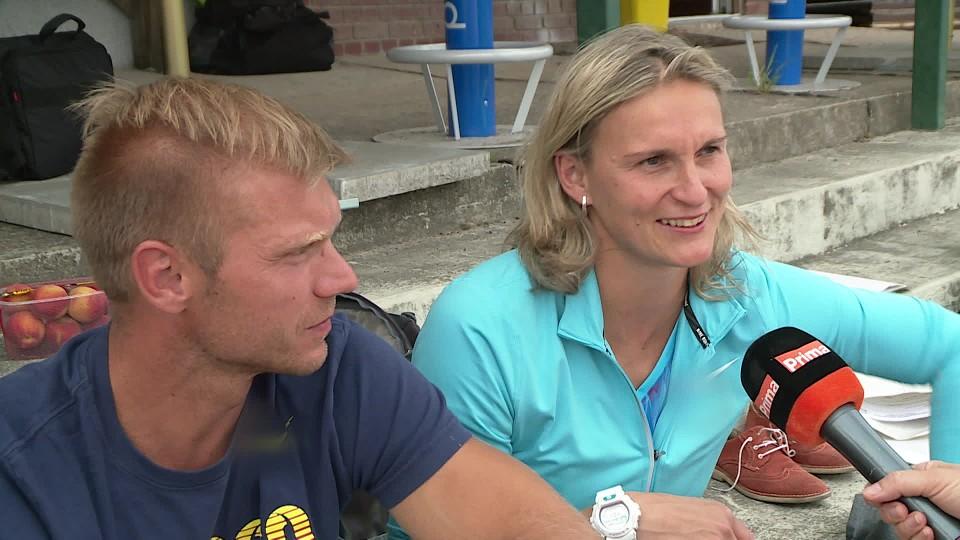 TOP STAR 6.6.2017 - Barbora Špotáková s rodinou