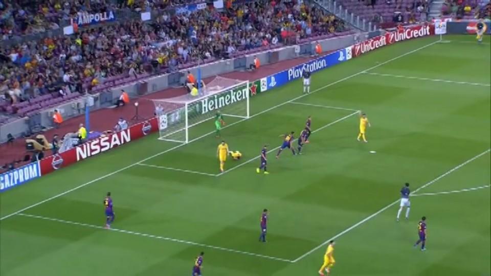 Sestřih zápasu - FC Barcelona vs Apoel F.C. (17.9.2014)