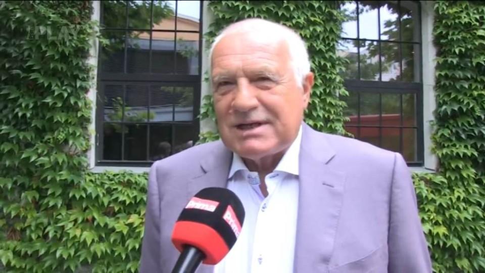 Václav Klaus - rozhovor