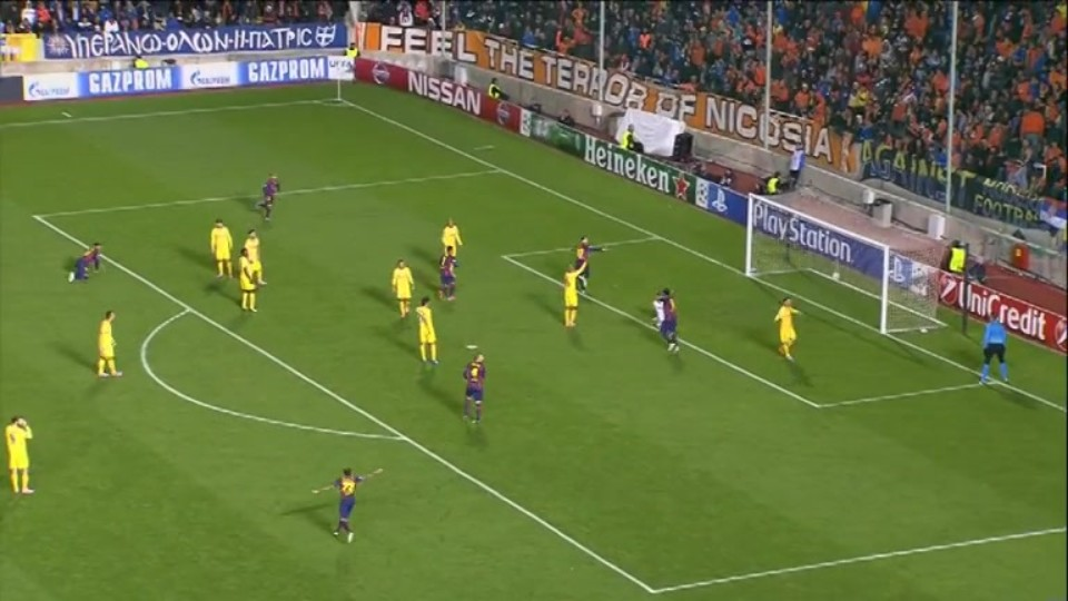 Gól - Messi 38 (25.11.2014)
