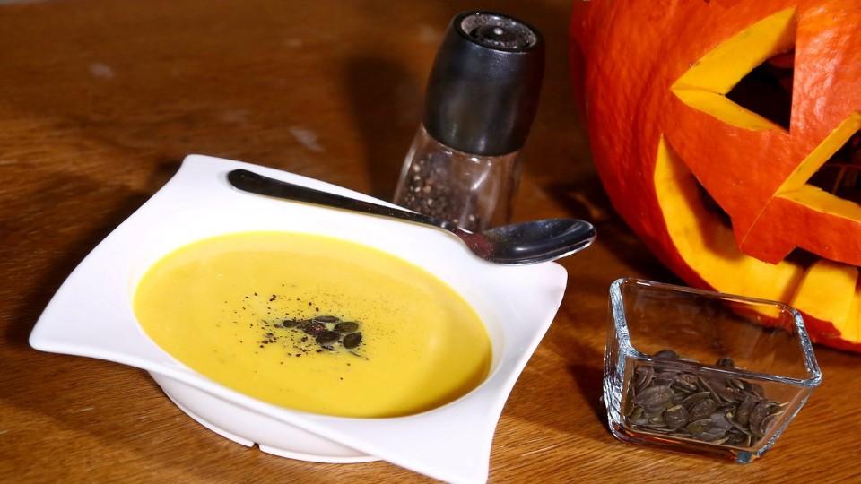 Vychytávky Ládi Hrušky - Dýňová polévka