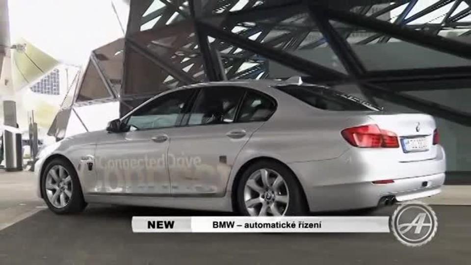 BMW - automatické řízení