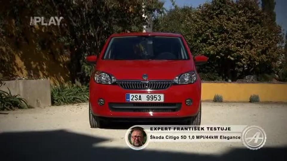 Škoda Citigo 5D 1,0 MPI Elegance