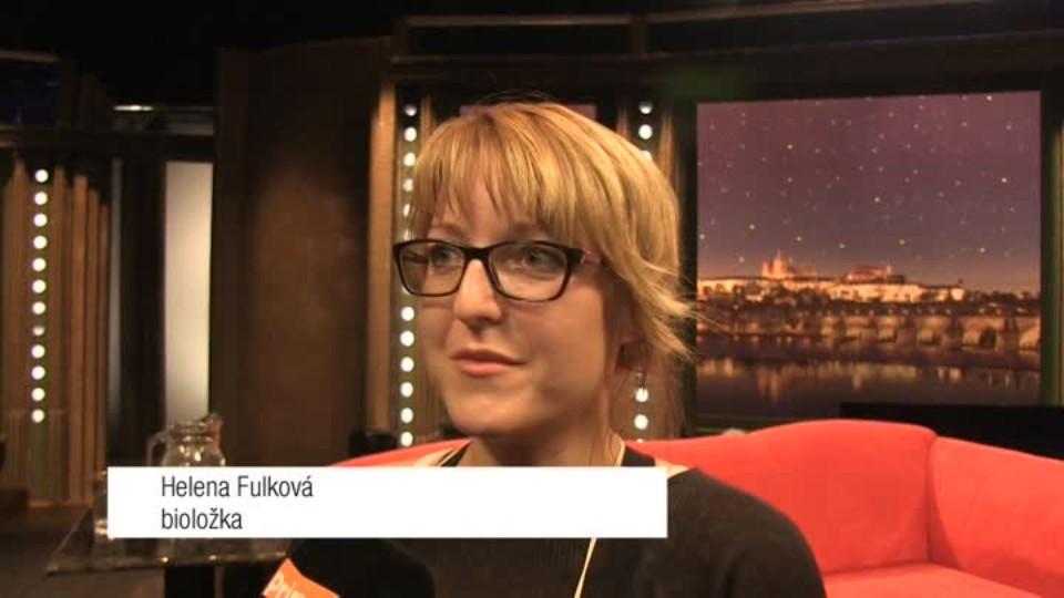 Bioložka Helena Fulková v SJK