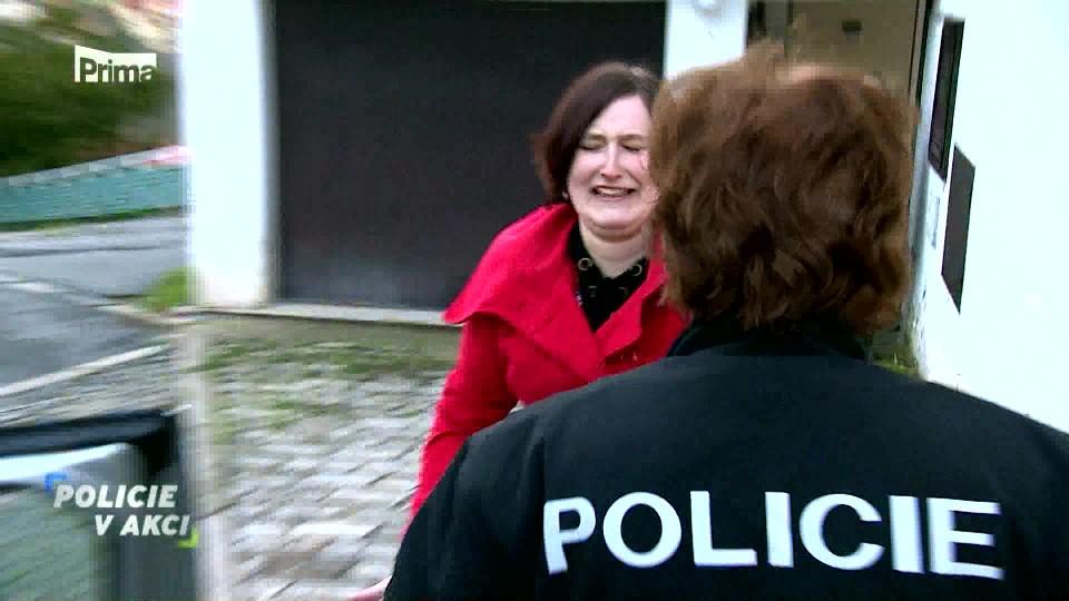 Únos miminka - Policie v akci