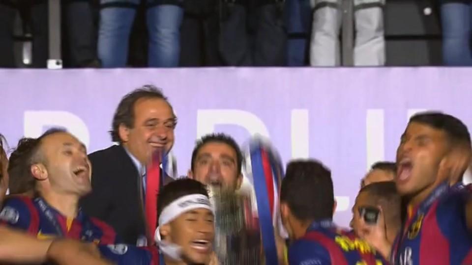 Trophy - Juventus v Barcelona (6.6.2015)
