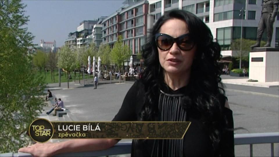 TOP STAR Magazín 2016 (16) - Lucie Bílá - koncert v Bratislavě