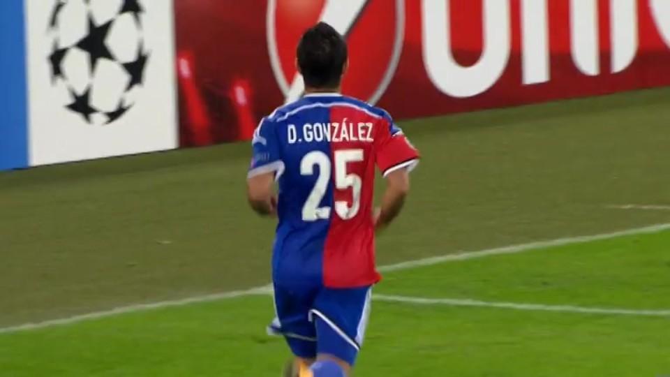 Gól - Gonzalez 41 (4.11.2014)