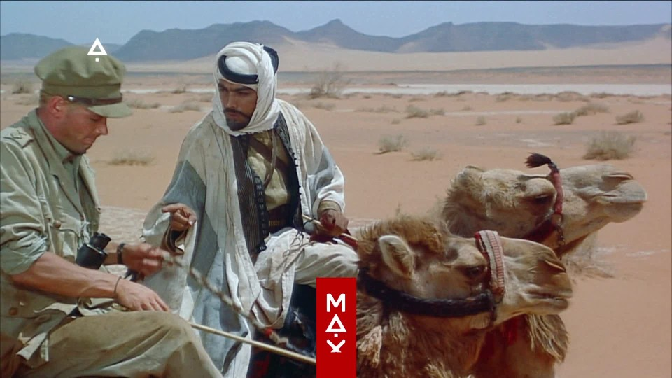 Lawrence z Arábie - teaser