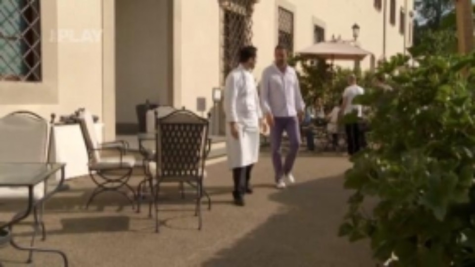 Léto s Italem - Návštěva v hotelu