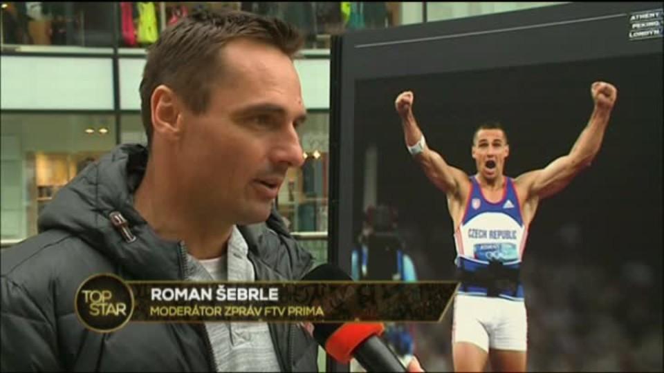 TOP STAR 10.4.2016 - Roman Šebrle
