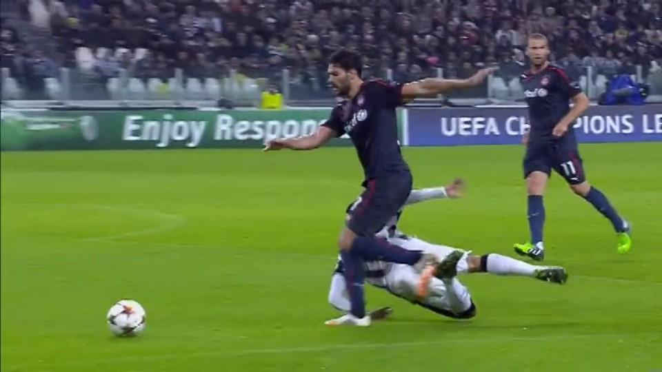 Penalty miss - Vidal 95 (4.11.2014)