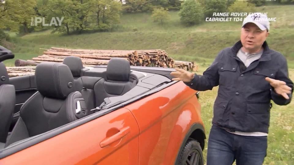 Range Rover Evoque Cabriolet TD4 HSE Dynamic