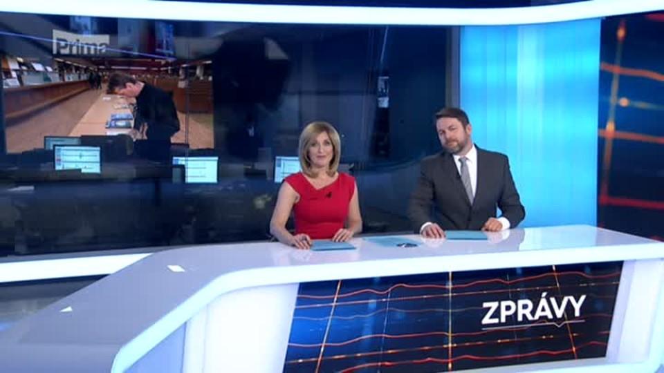 Zprávy FTV Prima 9.2.2018