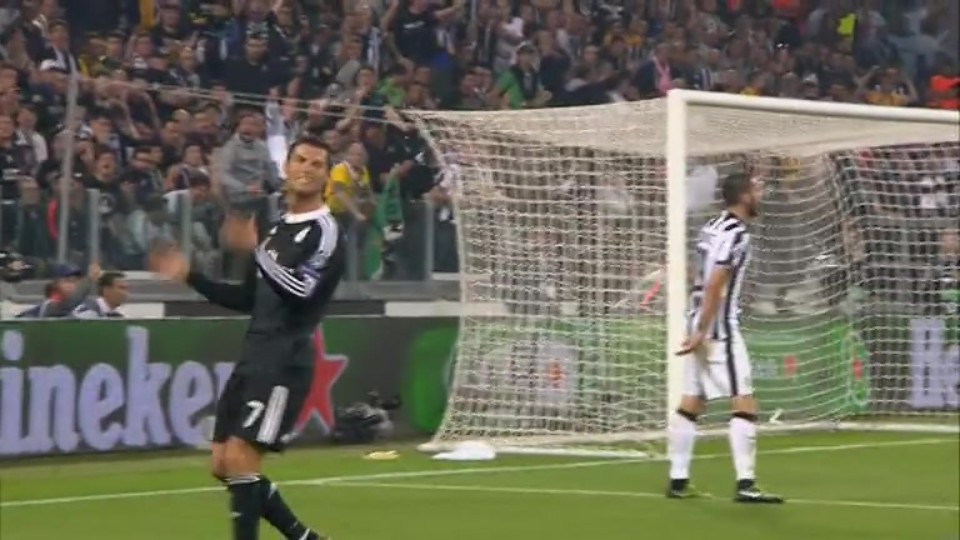Sestřih zápasu - Juventus v Real Madrid (5.5.2015)