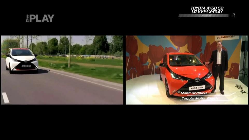 Toyota Aygo 5D 1,0 VVT-I x-play