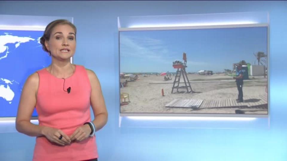 SVĚT: Dron - plážový záchranář