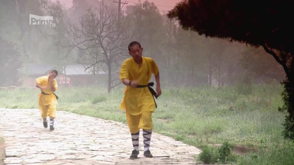 Žena na konci světa VI 1 - škola kung-fu v šaolinském klášteře