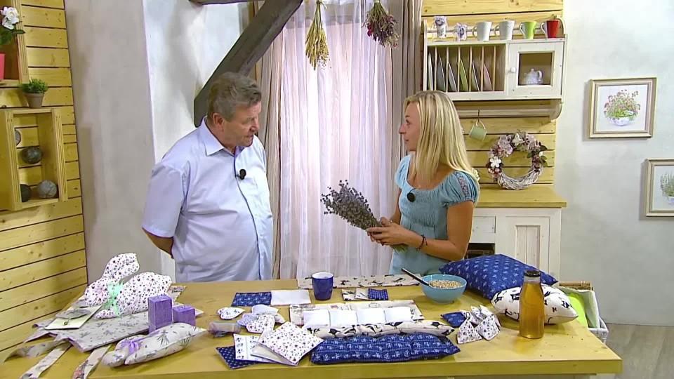 Návod na výrobu polštářků z levandule