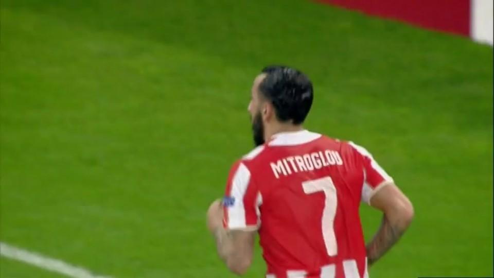 Gól - Mitroglou 87 (09.12.2014)