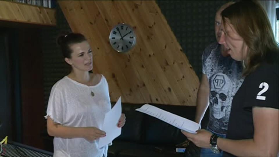 TOP STAR 10.7.2016 - Marta Jandová natáčení filmu