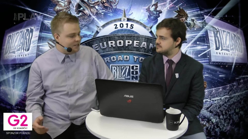 Road to BlizzCon 2015 - Neděle - Úvodní studio