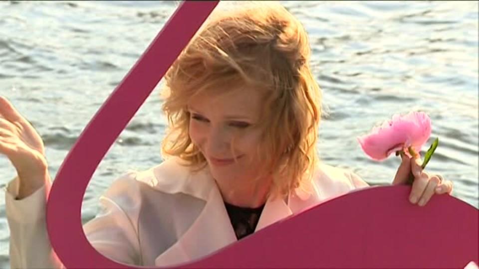 TOP STAR 10.6.2016 - Aňa Geislerová na lodi